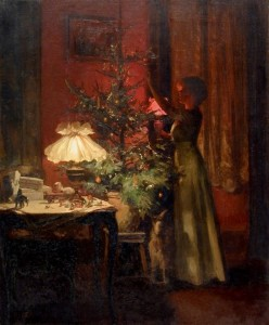 Rieder . decoratione de sapin de noel 1898