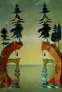 Salvador+Dali+-+Christmas+(Noel)+1946+