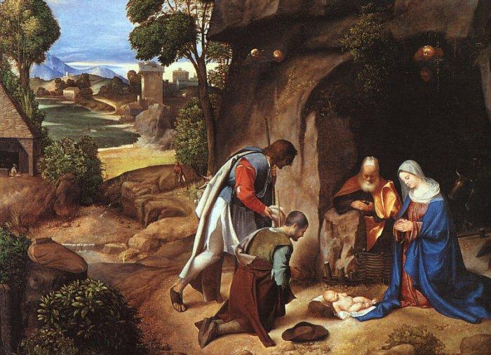 adorazione dei pastori giorgione