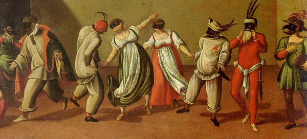 maschere commedia dell'arte