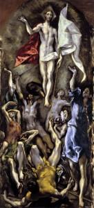 Pasqua el greco resurrezione