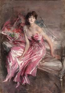 boldini signora in rosa 1916