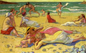 bagnanti maurice denis - games in the sand