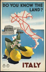 poster vintage italia