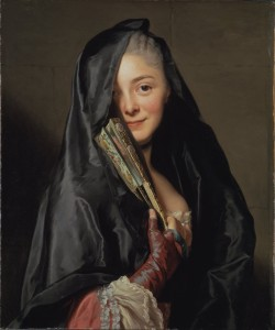 ventagli roslin the lady with the veil