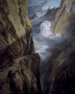 5SZ-S6002-D1-1804 William Turner, Der St. Gotthard-Pass Turner, William (Joseph Mallord W.) 1775-1851. 'Der St. Gotthard-Pass', um 1803/04. Oel auf Leinwand, 80,6 x 64,2 cm. Inv.Nr.1935P198 Birmingham, City Museum and Art Gallery. F: Turner, William (Joseph Mallord W.) , 17 Turner, William (Joseph Mallord W.) , 1775-1851. 'Le col du Saint-Gotthard', v. 1803/04. Huile sur toile, H. 0,806 , L. 0,642. Inv.Nr.1935P198 Birmingham, City Museum and Art Gallery.
