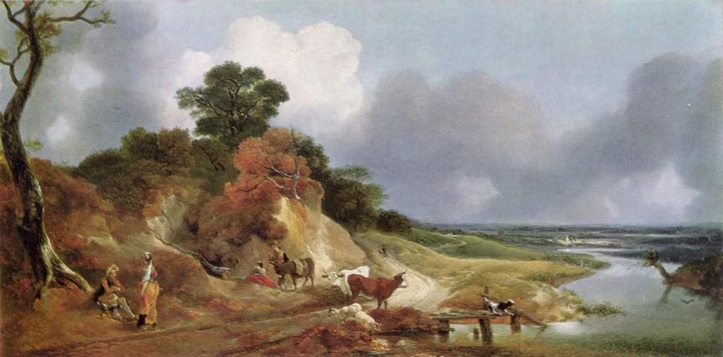 gainsborough landscape with the village cornard