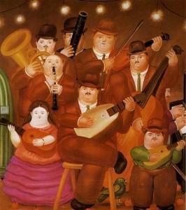 musicisti botero