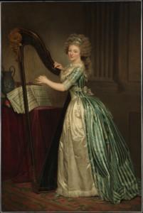 musicisti rose adelaide ducreux autoritratto