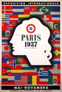 parigi manifesto vintage 10