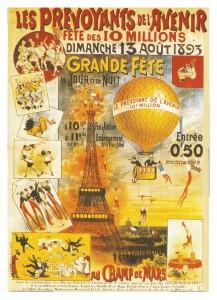 parigi manifesto vintage
