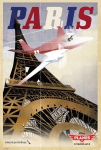 parigi manifesto vintage 4