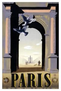parigi manifesto vintage 8
