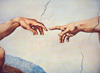 mani michelangelo creazione