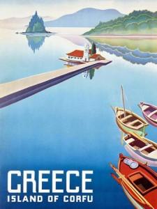 grecia vintage corfu