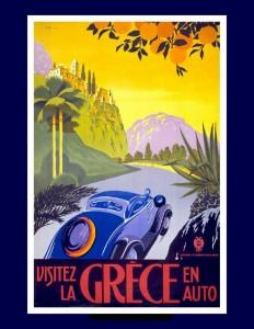 grecia vintage in auto