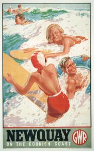 cornovaglia poster vintage 10