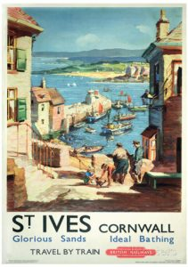 cornovaglia poster vintage 2