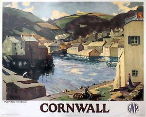 cornovaglia poster vintage 3