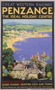 cornovaglia poster vintage 4