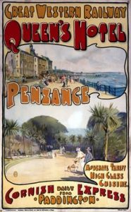 cornovaglia poster vintage 5