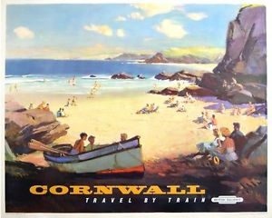 cornovaglia poster vintage 6
