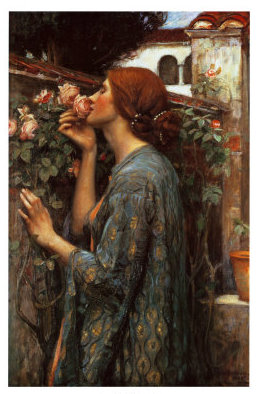 waterhouse l'anima delle rose