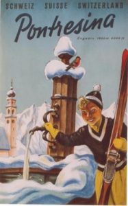 poster-vintage-pontresina-1953